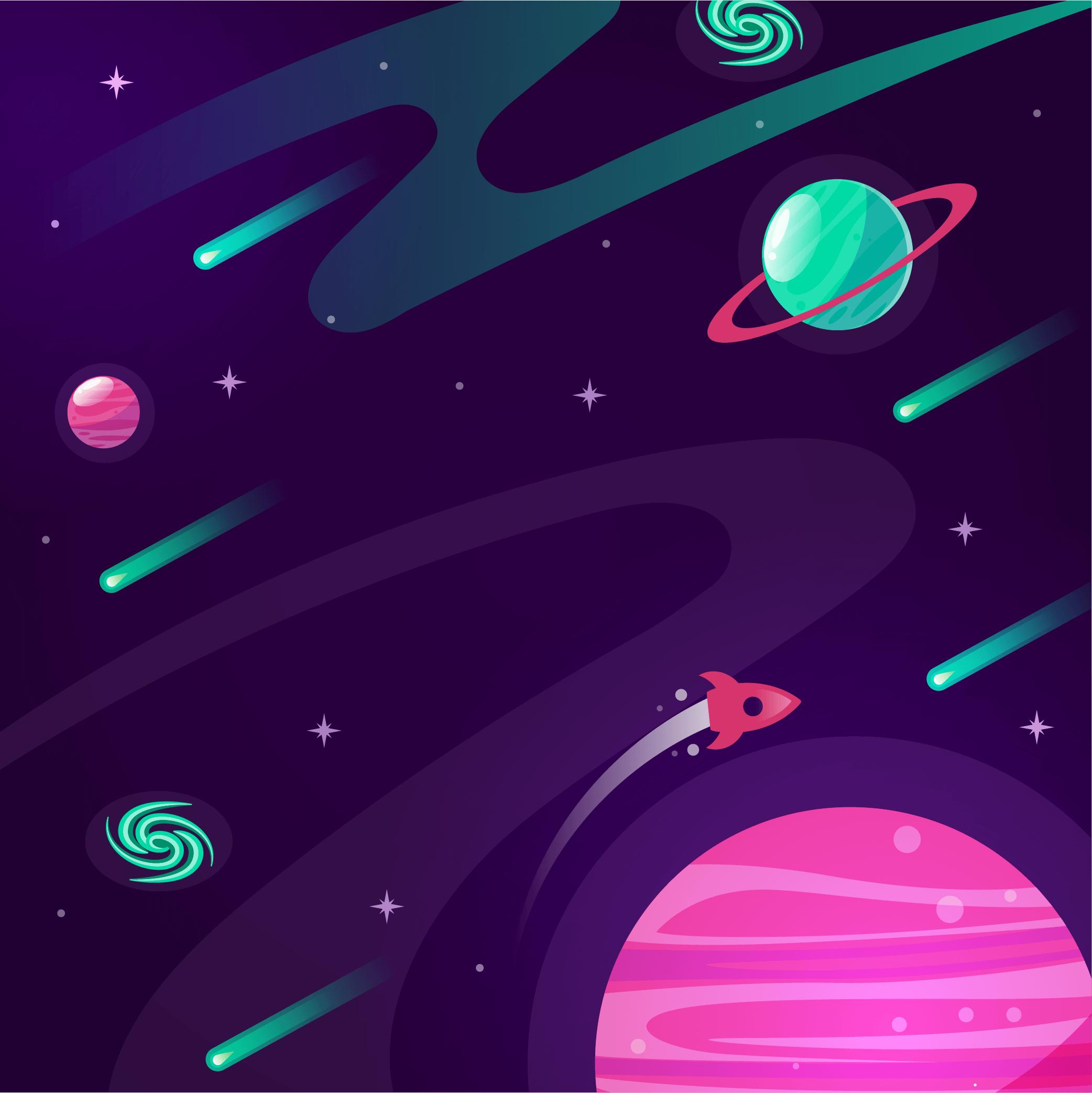 pianeti nello spazio sfondo rubriche