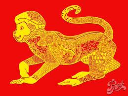 scimmia zodiaco cinese